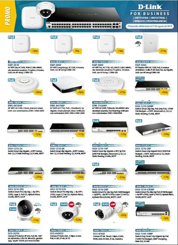 ofertas D-Link for business