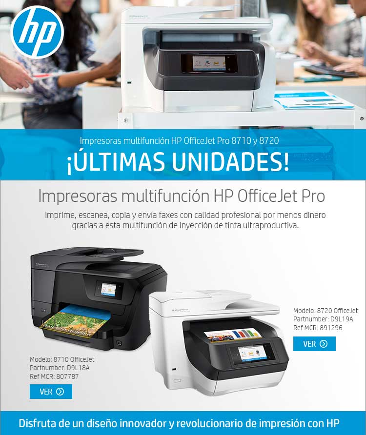 liquidacion impresoras hp
