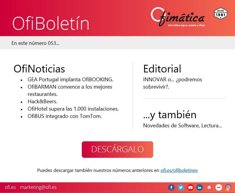 Ofiboletin 053 de Ofimática