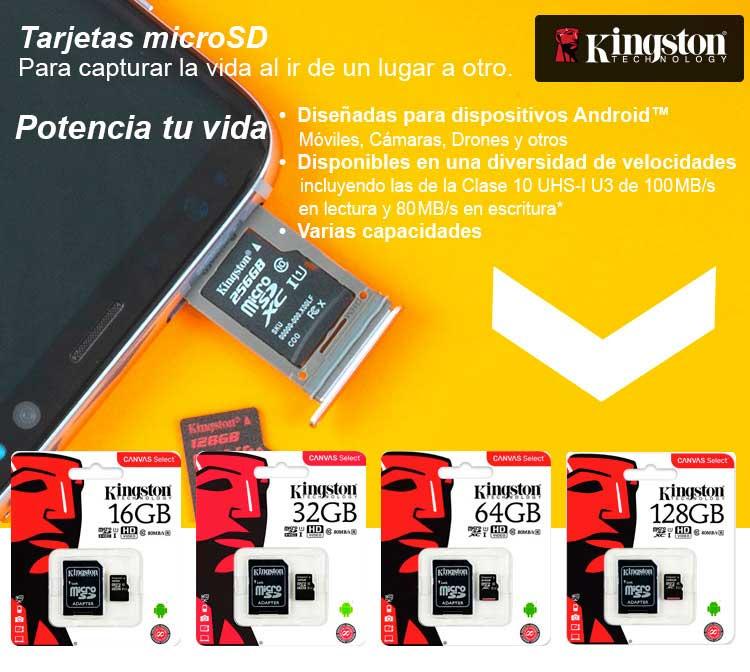 ofertas microsd kingston