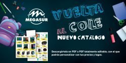 folleto vuelta al cole de megasur