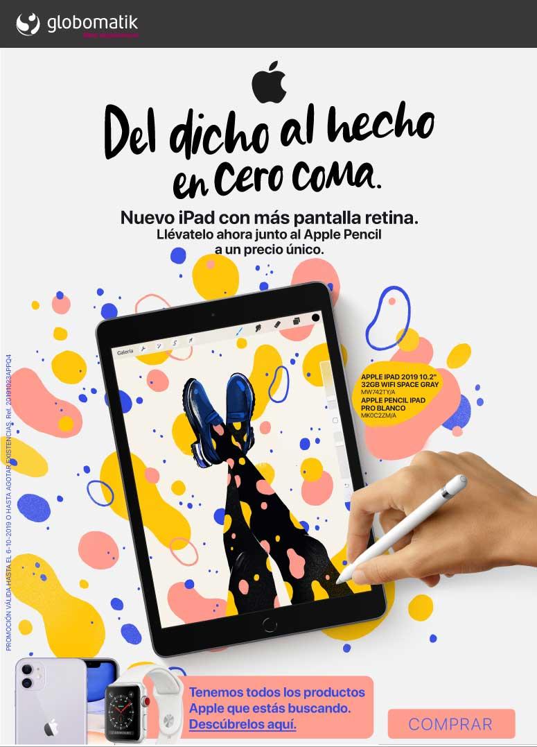 precio nuevo ipad 2019