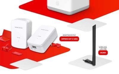 Llena tu hogar de Wi-Fi con Mercusys