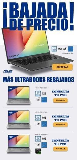 ultrabooks Asus ultra rebajados