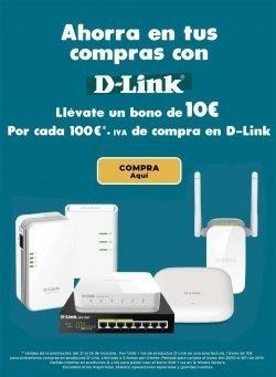Ahorra en tus compras con D-Link