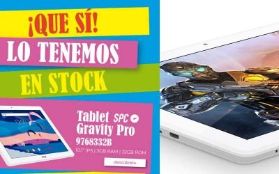 Mejor precio tablet SPC Gravity Pro