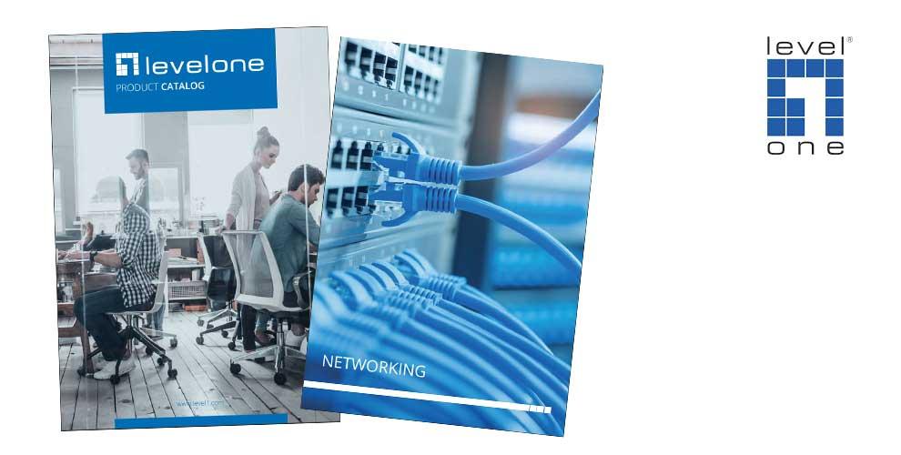 catálogo networking y vigilancia levelone