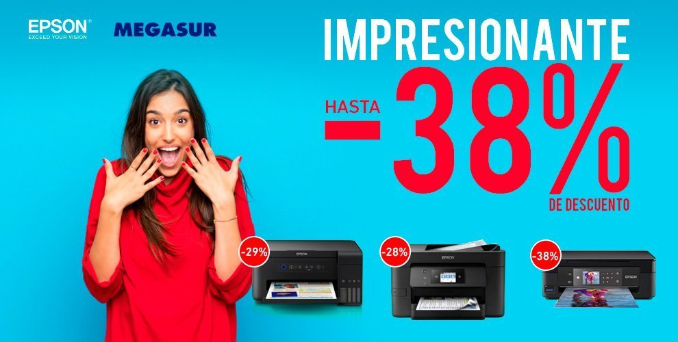 descuentos impresoras Epson