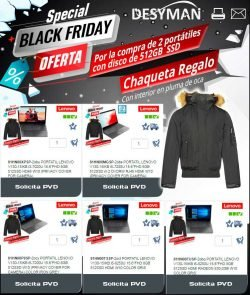 Black Friday de portátiles