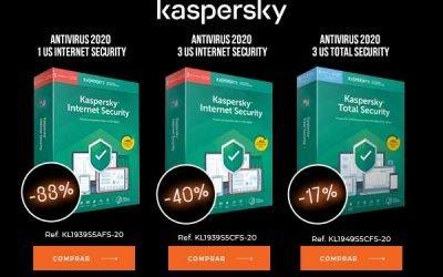 Descuento especial en Kaspersky