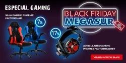 black gaming megasur