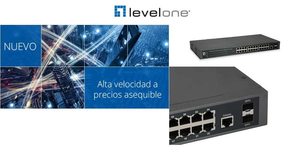 Switch Gigabit PoE Websmart de 26 puertos