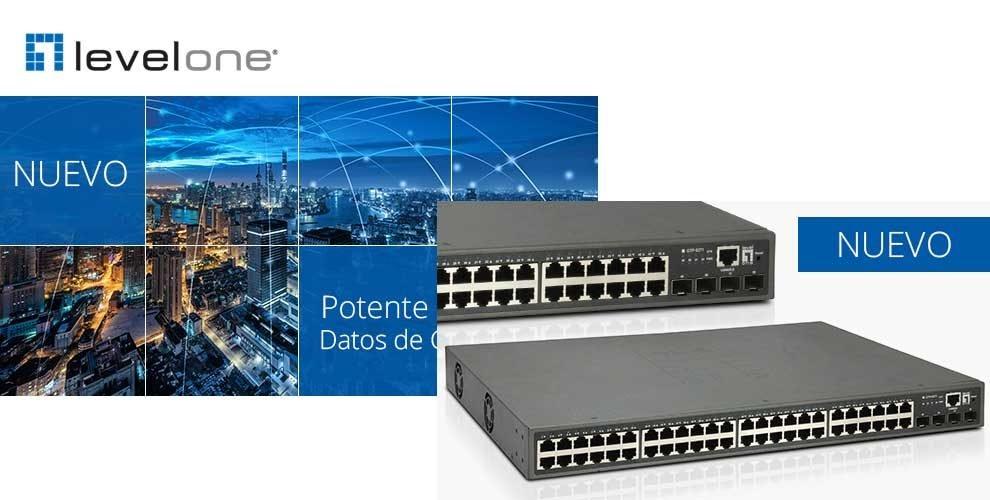 nuevo switch GTP-5271 de LevelOne