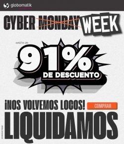 Cyber Week de Globomatik mayoristas informatica