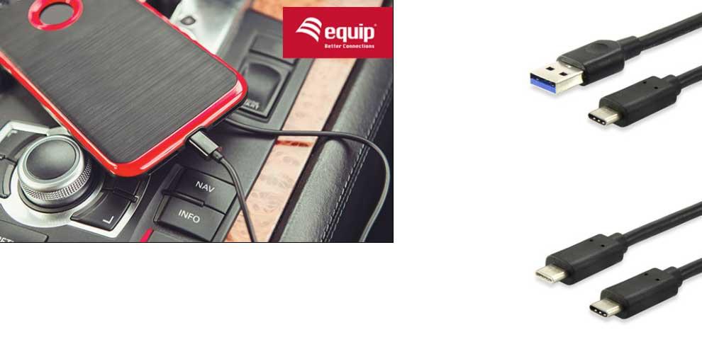 cable USB tipo C de Equip Life