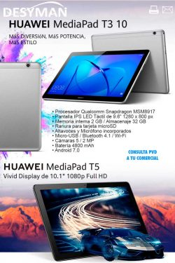 mejor precio Huawei tablet