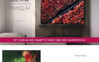 LG Ultra HD TV 4K en Infowork