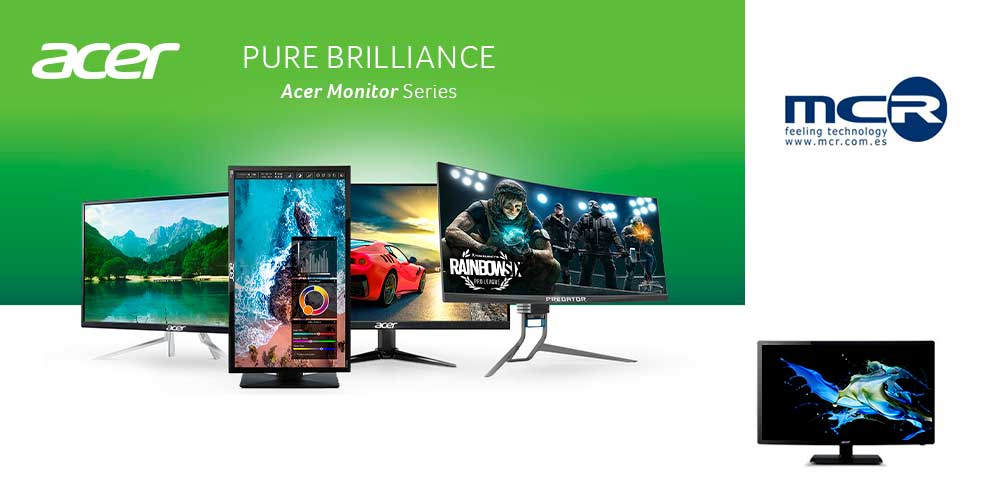 Acer monitor series