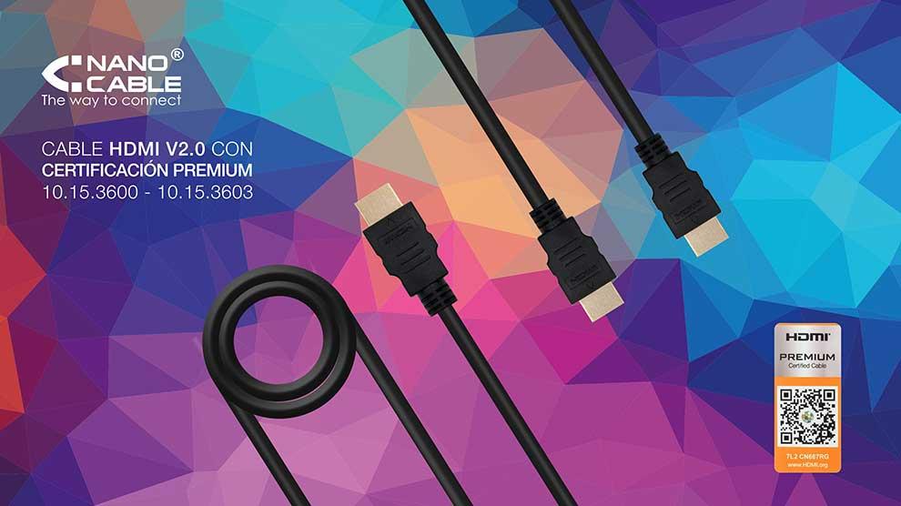 descuento cable HDMI v2.0