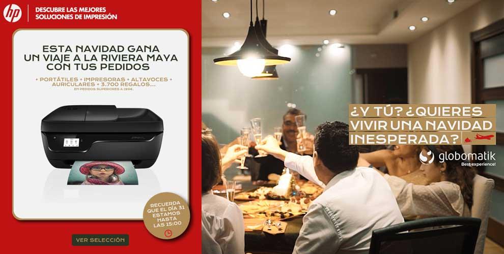 Gana una viaje a Rivera Maya con HP y Globomatik