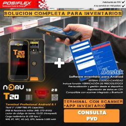 terminal industrial Nomu T20 Android