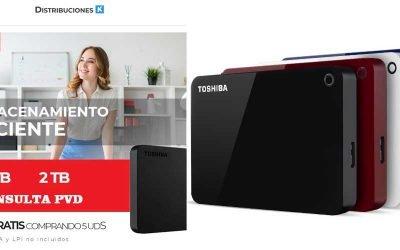 Almacenamiento eficiente con Toshiba