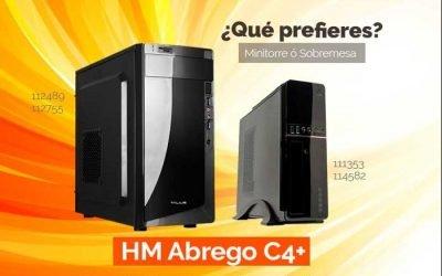 Si buscas un ordenador personal a medida y al mejor precio, mira el HM Abrego C4+
