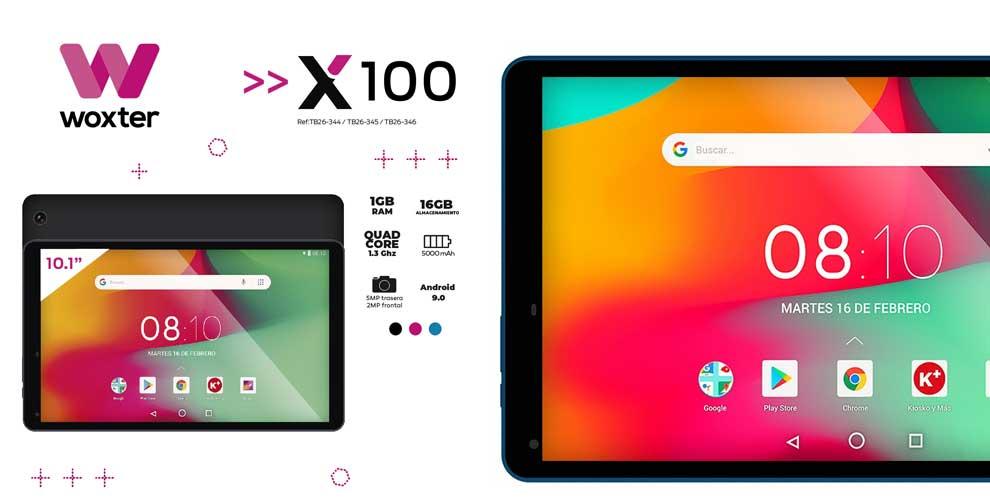 Tablet Woxter X100 a precio increible