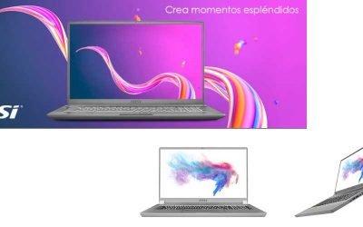 MSI presenta el primer portátil con pantalla Mini LED
