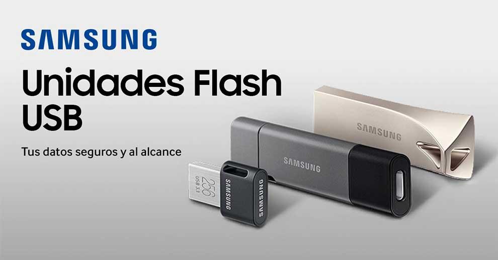mejor precio en unidades flash de Samsung