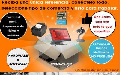 El Pack único de Posiflex para tu negocio