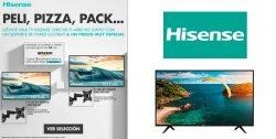 mejor precio televisores hisense