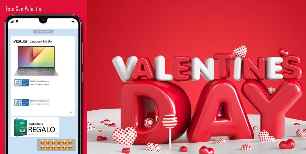 Que regalar en San Valentin