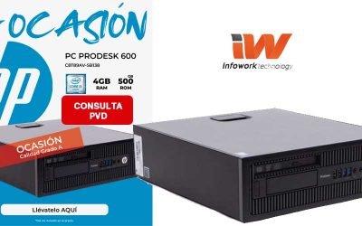 La ocasión con HP Prodesk 600 G1