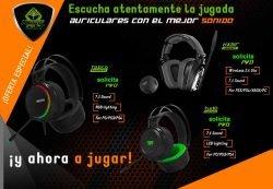 mejor oferta auriculares gamers