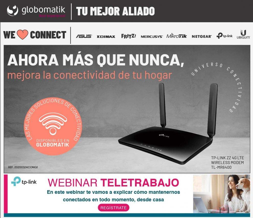mejor precio router 4G tp-link