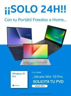 oferta portatiles con Windows 10 Pro