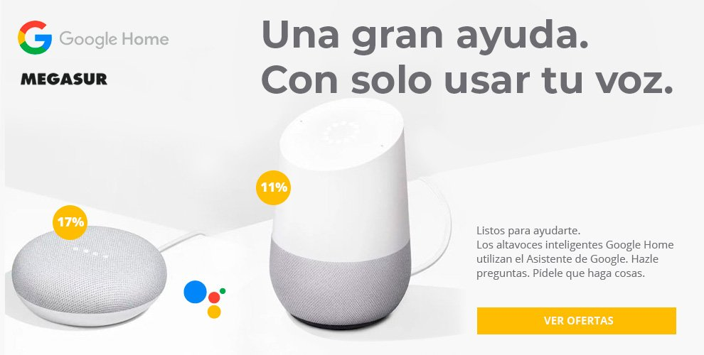 oferta google home