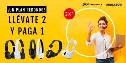 oferta 2x 1 auriculares Phoenix
