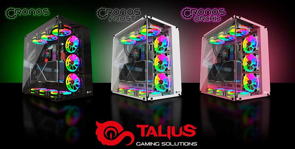 Descubre las cajas gaming Cronos de Talius