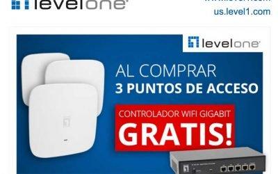 Al comprar 3 puntos de acceso te llevas un controlador WiFi Gigabit gratis