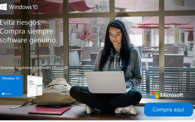 Compra siempre software genuino Microsoft