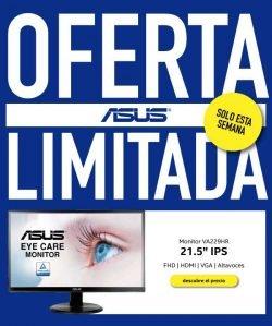 oferta limitada monitor Asus 21 pulgadas