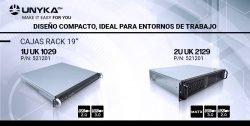 cajas rack 1U y 2U UNYKAch