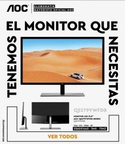 mejor precio monitor aoc