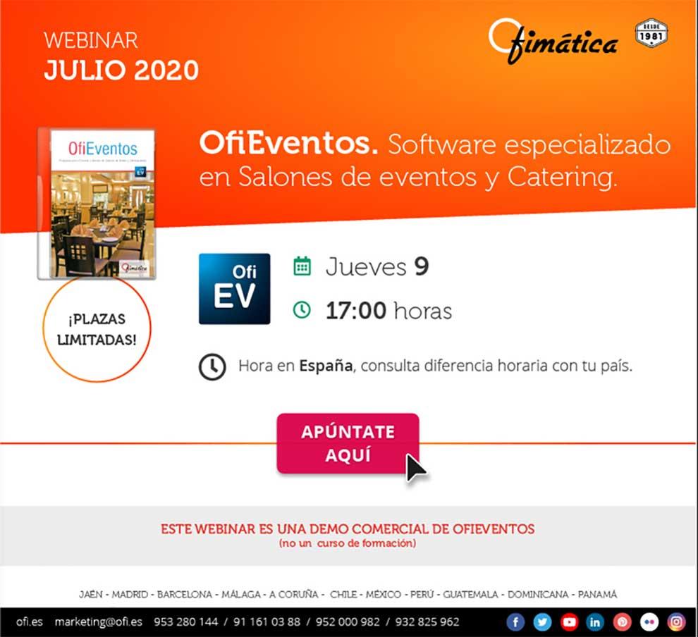 ofieventos webinar en Ofimatica