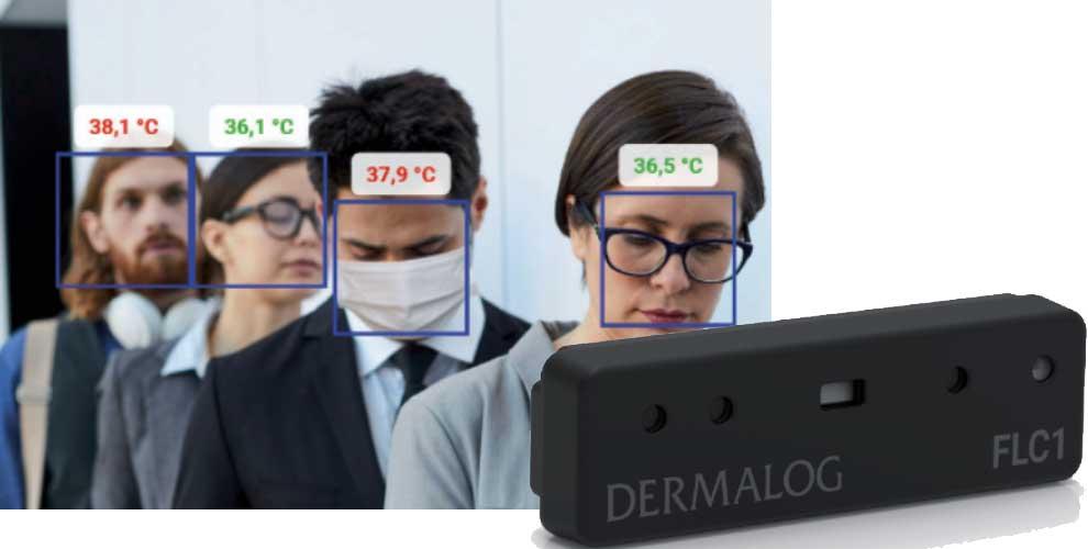 control de temperatura sin contacto