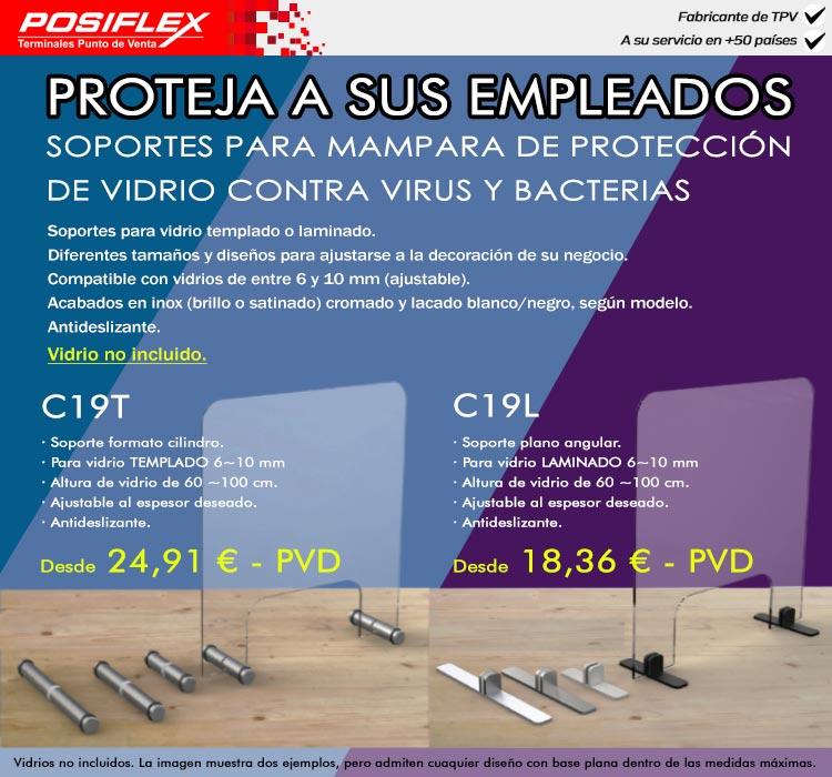mampara de protección contra virus y bacterias