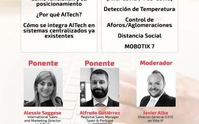 Webinar vida.ip con A.I Tech y Mobotix