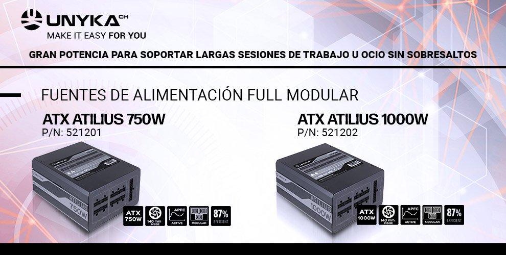 fuente alimentación PC alta eficiencia